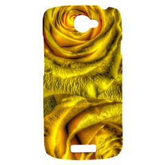 Gorgeous Roses, Yellow  HTC One S Hardshell Case