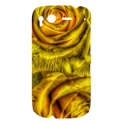 Gorgeous Roses, Yellow  HTC Desire S Hardshell Case