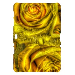 Gorgeous Roses, Yellow  Samsung Galaxy Tab 10.1  P7500 Hardshell Case