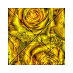 Gorgeous Roses, Yellow  Acrylic Tangram Puzzle (6  x 6 )