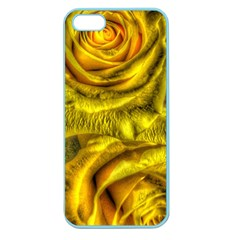 Gorgeous Roses, Yellow  Apple Seamless Iphone 5 Case (color)