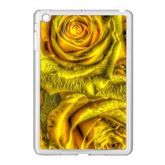 Gorgeous Roses, Yellow  Apple Ipad Mini Case (white)