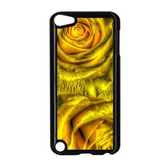 Gorgeous Roses, Yellow  Apple iPod Touch 5 Case (Black)