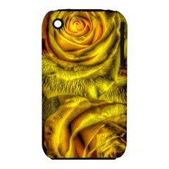 Gorgeous Roses, Yellow  Apple Iphone 3g/3gs Hardshell Case (pc+silicone)
