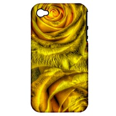 Gorgeous Roses, Yellow  Apple iPhone 4/4S Hardshell Case (PC+Silicone)
