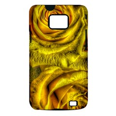 Gorgeous Roses, Yellow  Samsung Galaxy S II i9100 Hardshell Case (PC+Silicone)