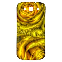 Gorgeous Roses, Yellow  Samsung Galaxy S3 S III Classic Hardshell Back Case