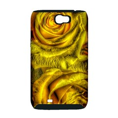 Gorgeous Roses, Yellow  Samsung Galaxy Note 2 Hardshell Case (PC+Silicone)