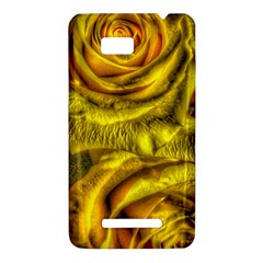 Gorgeous Roses, Yellow  HTC One SU T528W Hardshell Case