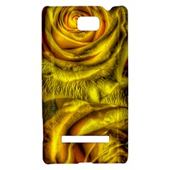 Gorgeous Roses, Yellow  HTC 8S Hardshell Case