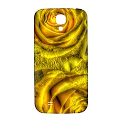 Gorgeous Roses, Yellow  Samsung Galaxy S4 I9500/I9505  Hardshell Back Case