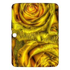 Gorgeous Roses, Yellow  Samsung Galaxy Tab 3 (10.1 ) P5200 Hardshell Case