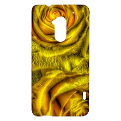 Gorgeous Roses, Yellow  HTC One Max (T6) Hardshell Case