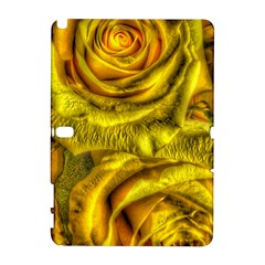 Gorgeous Roses, Yellow  Samsung Galaxy Note 10.1 (P600) Hardshell Case