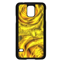 Gorgeous Roses, Yellow  Samsung Galaxy S5 Case (Black)