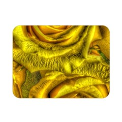 Gorgeous Roses, Yellow  Double Sided Flano Blanket (Mini)