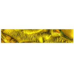 Gorgeous Roses, Yellow  Flano Scarf (Large)