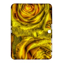 Gorgeous Roses, Yellow  Samsung Galaxy Tab 4 (10.1 ) Hardshell Case