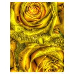 Gorgeous Roses, Yellow  Drawstring Bag (Large)
