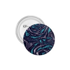 Gorgeous Roses, Aqua 1.75  Buttons