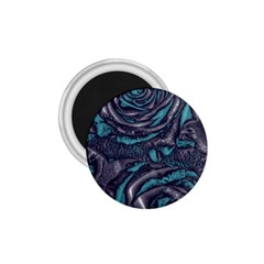 Gorgeous Roses, Aqua 1.75  Magnets