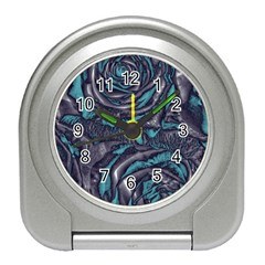 Gorgeous Roses, Aqua Travel Alarm Clocks