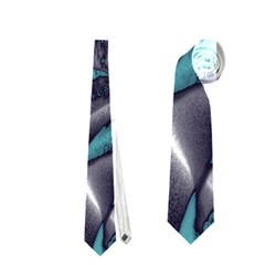 Gorgeous Roses, Aqua Neckties (One Side)