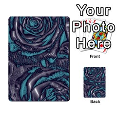 Gorgeous Roses, Aqua Multi-purpose Cards (Rectangle)