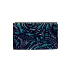Gorgeous Roses, Aqua Cosmetic Bag (Small)