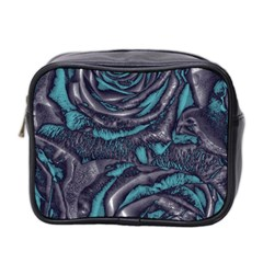 Gorgeous Roses, Aqua Mini Toiletries Bag 2-Side