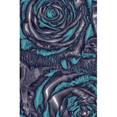 Gorgeous Roses, Aqua 5.5  x 8.5  Notebooks