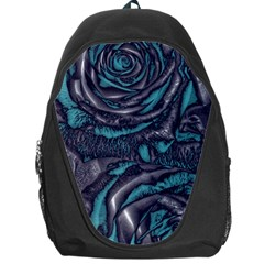Gorgeous Roses, Aqua Backpack Bag