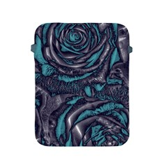 Gorgeous Roses, Aqua Apple iPad 2/3/4 Protective Soft Cases