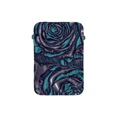 Gorgeous Roses, Aqua Apple iPad Mini Protective Soft Cases