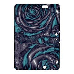 Gorgeous Roses, Aqua Kindle Fire HDX 8.9  Hardshell Case