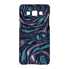 Gorgeous Roses, Aqua Samsung Galaxy A5 Hardshell Case