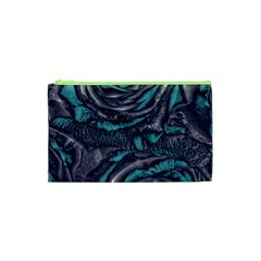 Gorgeous Roses, Aqua Cosmetic Bag (XS)
