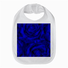 Gorgeous Roses,deep Blue Bib
