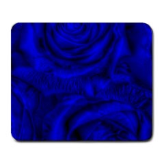 Gorgeous Roses,deep Blue Large Mousepads