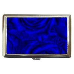 Gorgeous Roses,deep Blue Cigarette Money Cases