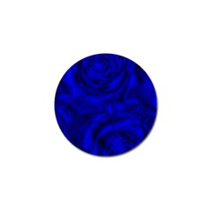 Gorgeous Roses,deep Blue Golf Ball Marker (4 Pack)