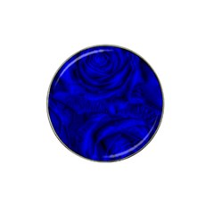 Gorgeous Roses,deep Blue Hat Clip Ball Marker