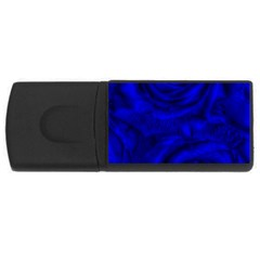 Gorgeous Roses,deep Blue Usb Flash Drive Rectangular (4 Gb)