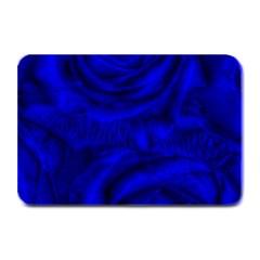 Gorgeous Roses,deep Blue Plate Mats