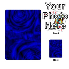 Gorgeous Roses,deep Blue Multi-purpose Cards (Rectangle)