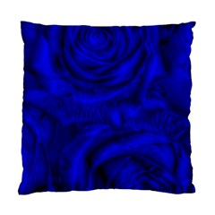 Gorgeous Roses,deep Blue Standard Cushion Cases (two Sides)
