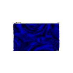 Gorgeous Roses,deep Blue Cosmetic Bag (small)