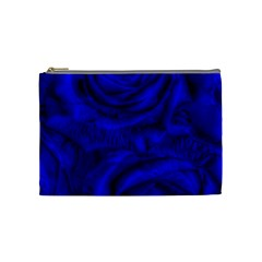 Gorgeous Roses,deep Blue Cosmetic Bag (medium)