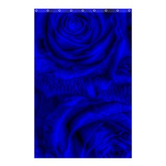 Gorgeous Roses,deep Blue Shower Curtain 48  x 72  (Small)