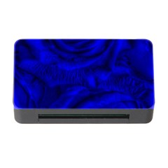 Gorgeous Roses,deep Blue Memory Card Reader with CF